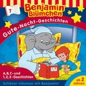Gute-Nacht-Geschichten - Folge 7: A,B,C -Geschichten / 1,2,3-Geschichten von Benjamin Blümchen
