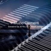 Sonatina, Op. 36 No.3 in C Major, Adagio by Richard Settlement