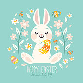 Happy Easter Jazz 2019 (Family Celebration, Sweet Home, Special Jazz for Easter Breakfast, Easy Listening) by Various Artists