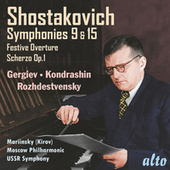 Shostakovich: Symphonies Nos. 9 & 15 de Various Artists