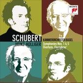 Schubert: Symphonies Nos. 1 & 5, Fierrabras Overture von Kammerorchester Basel