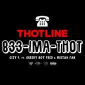 Thotline (feat. Mistah F.A.B. & Greedy Boy Fred) by City P