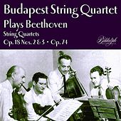 Beethoven: String Quartets String Quartets Nos, 2, 3 & 10 de Budapest String Quartet
