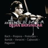 Dejan Bravničar - Antologija VI.  Bach - Porpora - Prokofjev - Bartok - Veracini - Čajkovski - Paganini de Dejan Bravničar