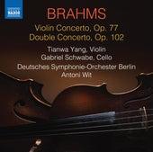 Brahms: Violin Concerto, Op. 77 & Double Concerto, Op. 102 by Tianwa Yang