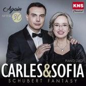 Carles & Sofia Piano Duo: Schubert Fantasy de Carles Lama