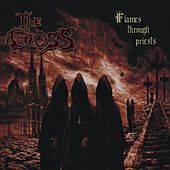 Flames Through Priests by Cross