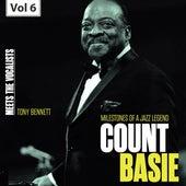 Milestones of a Jazz Legend - Meets the Vocalists, Vol. 6 de Count Basie