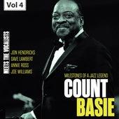 Milestones of a Jazz Legend - Meets the Vocalists, Vol. 4 de Count Basie