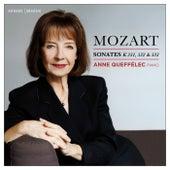 Mozart: Sonates pour piano, K. 331, 332 & 333 by Anne Queffélec