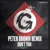 Don't You (Peter Brown Remix) von Veev