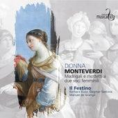 Monteverdi: Donna - Madrigali e mottetti a due voci femminili de Various Artists