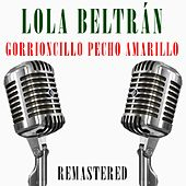 Gorrioncillo pecho amarillo de Lola Beltran