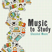 Music to Study: Classical Music Instrumental Covers von Various Artists