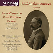 Elgar from America by Various Artists