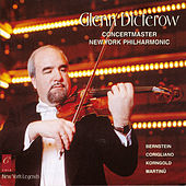 Glenn Dicterow Plays Bernstein, Martinå¯, Korngold and Corigliano de Karen Dreyfus