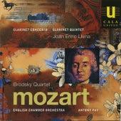Mozart: Clarinet Concerto and Clarinet Quintet von Joan Enric Lluna