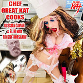 Chef Great Kat Cooks Russian Caviar And Blini With Rimsky-korsakov by The Great Kat
