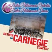 Return to Carnegie Concert de Butler Philharmonic Orchestra