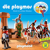 Folge 35: Streit im Wilden Westen (Das Original Playmobil Hörspiel) von Die Playmos