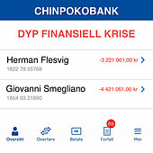 Dyp Finansiell Krise by Herman Flesvig