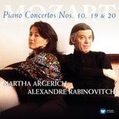 Mozart: Pianos Concertos Nos 10, 19 & 20 by Martha Argerich
