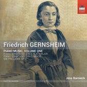 Gernsheim: Piano Music, Vol. 1 von Jens Barnieck