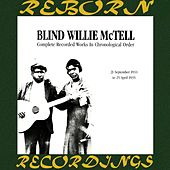 Complete Recorded Works, Vol. 3 (1933-1935) (HD Remastered) by Blind Willie McTell