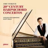20th Century Harpsichord Concertos by Jory Vinikour