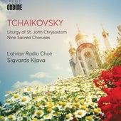 Tchaikovsky: Liturgy of St. John Chrysostom, Op. 41, TH 75 (Excerpts) & 9 Sacred Pieces, TH 78 de Various Artists