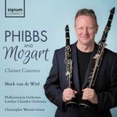 Phibbs: Clarinet Concerto – Mozart: Clarinet Concerto von Mark van de Wiel