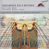 Orgelwerke aus 6 Nationen de Dan Zerfaß