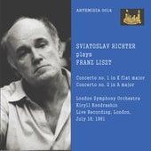 SVIATOSLAV RICHTER plays FRAZ LISZT von Sviatoslav Richter
