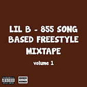 855 Song Based Freestyle Mixtape, Vol. 1 by Lil'B