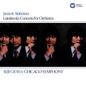 Lutosławski: Concerto for Orchestra - Janáček: Sinfonietta by Seiji Ozawa