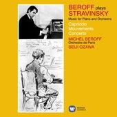 Stravinsky: Music for Piano and Orchestra (Capriccio, Movements & Concerto) by Michel Béroff