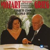 Mozart, Grieg: Piano Sonatas von Elisabeth Leonskaja