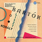 Kodály: Duo for Violin and Cello - Bartók: Contrasts - Liszt: Concerto pathétique (Live at Saratoga Performing Arts Center, 1998) von Martha Argerich