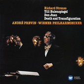 Strauss: Don Juan, Till Eulenspiegel's Merry Pranks & Death and Transfiguration von André Previn