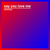 Say You Love Me de Delafaye