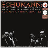 Schumann: String Quartet No. 2 & No. 3 (Remastered) de New Music String Quartet