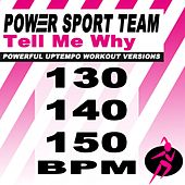 Tell Me Why? (Powerful Uptempo Cardio, Fitness, Crossfit & Aerobics Workout Versions) von Power Sport Team