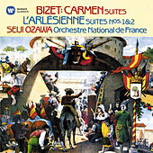 Bizet: Suites from Carmen & L'Arlésienne by Seiji Ozawa