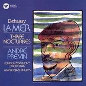 Debussy: La Mer & Nocturnes by André Previn