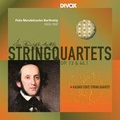 Mendelssohn: String Quartets Nos. 2 & 3 de Kazakh State String Quartet