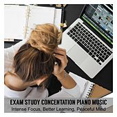 Exam Study Concentration Piano Music for Intense Focus, Better Learning , Peaceful Mind von Various Artists