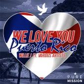 We Love You Puerto Rico von Willie J.
