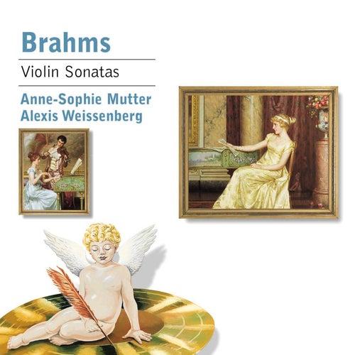 Brahms : Violin Sonatas 1-3 by Alexis Weissenberg