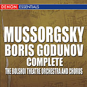 Mussorgsky: Boris Godunov by Mark Ermler