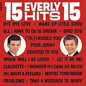 15 Everly Hits van The Everly Brothers